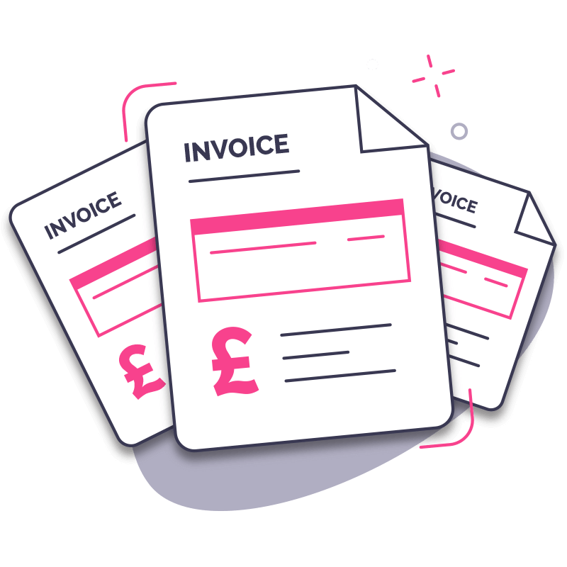 Invoice Finance Step 2 - Choose invoices to sell